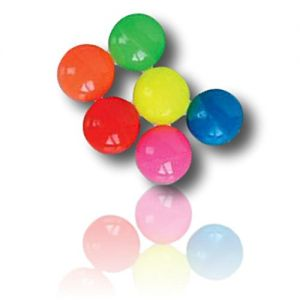 Custom & Unique {27 mm} 144 Bulk Pack, Mid-Size Super High Bouncy Balls, Made of Grade A+ Rebound Rubber w/ Bright Classical Retro Vintage Polished Shiny Brilliant Sheen Glossy Simple (Mutlicolor)