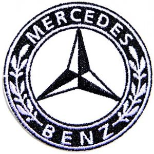 Mercedes Benz AMG Sport Car Racing Patch Iron on Sewing Embroidered Applique Logo Badge Sign Embelm Craft Gift