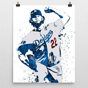 Clayton Kershaw Los Angeles Dodgers Poster