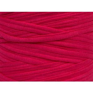 """Fabulous Crafts {87 Total Yards / 400g} 1 Cone Pack of Durable"""" Size 6 Super Bulky Chunky Thick Roving"""" Yarn for Knitting, Crochet & More, Made of 95% Cotton & 5% Elastan w/Soft Thick Style {Pink}"""