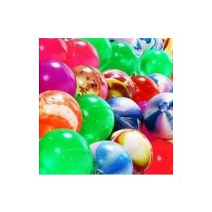 Custom & Unique {38mm} 50 Bulk Pack, Mid-Size Super High Bouncy Balls, Made of Grade A+ Rebound Rubber w/ Cosmic Glittery Galaxy Stars Whirlpool Marbled Sparkling Shiny Clouded Dappled (Multicolor)