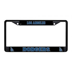 Los Angeles Dodgers Chrome License Plate Frame