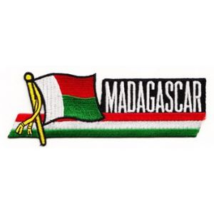 Madagascar - Country Flag Patch