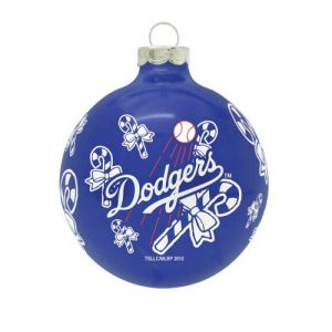 "MLB Los Angeles Dodgers Traditional 2 5/8"" Ornament"
