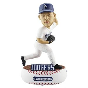Forever Collectibles Clayton Kershaw Los Angeles Dodgers Baller Special Edition Bobblehead MLB