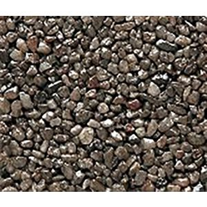 "Safe & Non-Toxic {Small Size, 0.12"" Inch} 3 Pound Bag of Gravel & Pebbles Decor Made of Genuine Quartz for Freshwater Aquarium w/ Dark Sleek Modern Simple River Inspired Earthy Toned Style [Gray]"