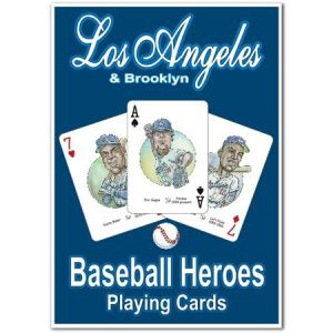 Hero Decks - Los Angeles Dodgers - Playing Cards