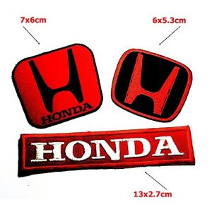 Set MOTORSPORT0076 Honda Motorcycles Car Racing Biker Motorsport Patch Sew Iron on Logo Embroidered Badge Sign Emblem Costume BY Dreamhigh_skyland