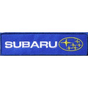 SUBARU Logo Sign Car Racing Patch Sew Iron on Applique Embroidered T shirt Jacket Costume Gift BY SURAPAN