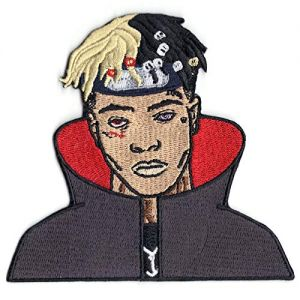 Anime Xxxtentacion with Cape Embroidered Iron On Patch
