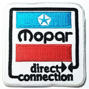 MOPAR direct connection Sign Chrysler Hot Rod Nos Dodge Car Racing logo patch Jacket T-shirt Sew Iron on Patch Badge Embroidery