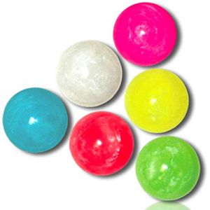 Custom & Unique {27mm} 250 Bulk Pack, Mid-Size Super High Bouncy Balls, Made of Grade A+ Rebound Rubber w/ Assorted Marbled Swirl Pearl Abstract Vibrant Mixed Lot Style {Multicolor} + Certificate