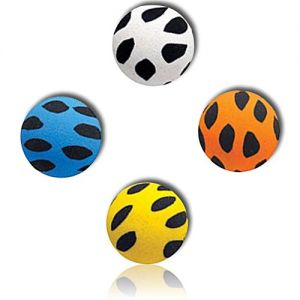 Custom & Unique {27mm} 1000 Bulk Pack, Mid-Size Super High Bouncy Balls, Made of Grade A+ Rebound Rubber w/ Mosaic Spotted Splotchy Dotted Polk-a-Dotted Patchy Blotchy Dappled Flecked (Multicolor)