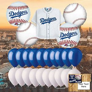 Los Angeles Dodgers 25 Piece Balloon Set