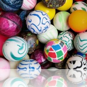 Custom & Unique {38 mm} 100 Lot Pack, Mid-Size Super High Bouncy Balls, Made of Grade A+ Rebound Rubber w/Classic Glitzy Shimmering Glitter Plaid Checkered Rock & Stone Splatter Patterns (Multicolor)