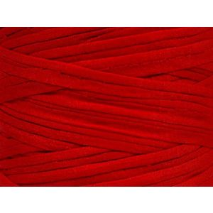 """Fabulous Crafts {87 Total Yards / 400g} 1 Cone Pack of Durable"""" Size 6 Super Bulky Chunky Thick Roving"""" Yarn for Knitting, Crochet & More, Made of 95% Cotton & 5% Elastan w/Chili Pepper St {Red}"""