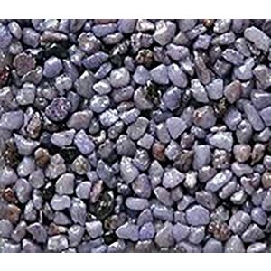 "Safe & Non-Toxic {Small Size, 0.12"" Inch} 10 Pound Bag of Gravel & Pebbles Decor Made of Genuine Quartz for Freshwater Aquarium w/ Sweet Sleek Modern Simple Pastel Lavender Inspired Style [Purple]"