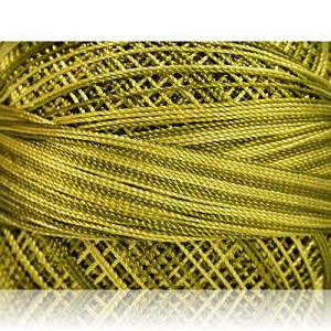 """Fabulous Crafts {1638 Total Yards / 300g} 6 Cakes Pack of Durable"""" Size 0 Lace Weight Fingering"""" Yarn for Knitting, Crochet & More, Made of 100% Micro Fiber w/Holly Sty {Green Shades & Olive Green}"""