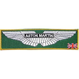 ASTON MARTIN Sport Racing Logo Sign Car Patch Sew Iron on Applique Embroidered T shirt Jacket Costume Gift BY SURAPAN