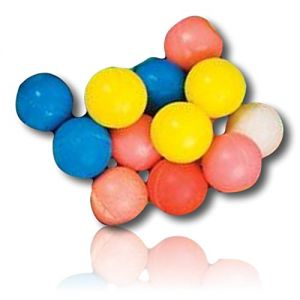 Custom & Unique {27mm} 432 Bulk Pack, Mid-Size Super High Bouncy Balls, Made of Grade A+ Rebound Rubber w/ Shiny Polished Gleaming Glossy Classic Vintage Retro Simple Individual Jumpy (Multicolor)