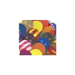 Custom & Unique {49mm} 40 Bulk Pack, Big-Size Super High Bouncy Balls, Made of Grade A+ Rebound Rubber w/ Glittery Sparkles Shiny Shimmering Whirlpooled Marbled Stirped Swirled Clouded (Multicolor)