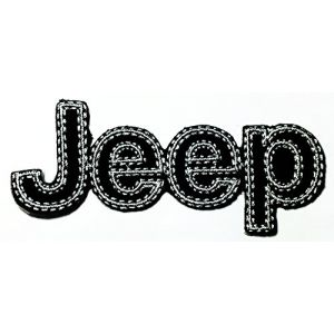 Jeep Racing Motorsport Car Racing logo patch Jacket T-shirt Sew Iron on Patch Badge Embroidery