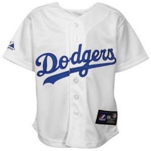 jersey Infant Baby Dodgers Home 24 Months