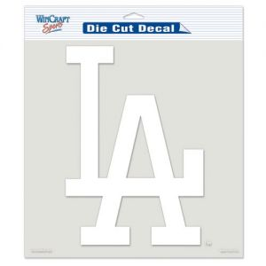Los Angeles Dodgers Die-Cut Decal - White