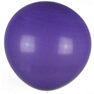 "Custom, Fun & Cool {XXL Massive Huge Size 36"" Inch} 50 Pack of Helium & Air Inflatable Latex Rubber Balloons w/ Traditional Circus Design [Dark Purple Color]"