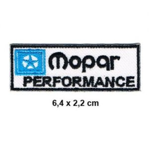 MOPAR PERFORMANCE USA Motorsport Chrysler Racing Parts Formula 1 F1 Racing Race jacket t shirt Polo Patch Sew Iron on Embroidered