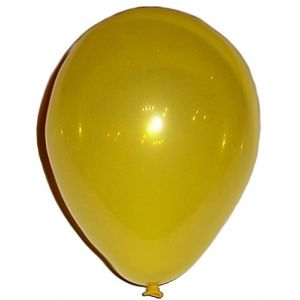 "Custom, Fun & Cool {Small Size 5"" Inch} 50 Pack of Helium & Air Latex Rubber Balloons w/ Modern Simple Celebration Party Special Event Decor Dart Game Design [In Bright Bold Yellow]"