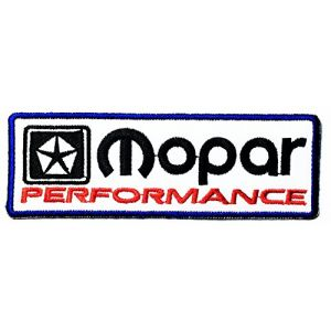 MOPAR performance Sign Chrysler Hot Rod Nos Dodge Car Racing logo patch Jacket T-shirt Sew Iron on Patch Badge Embroidery