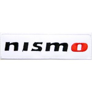 nismo NISSAN Logo Sign Car Racing Biker Patch Iron on Applique Embroidered T shirt Jacket Gift BY SURAPAN