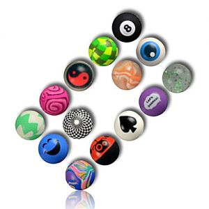 Custom & Unique {27mm} 2000 Bulk Pack, Mid-Size Super High Bouncy Balls, Made of Grade A+ Rebound Rubber w/ Smiling Faces Checkered Glittering Fractal Eye Ball Spade Lady Bug Spider Maze (Multicolor)