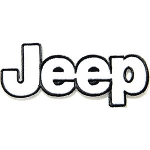 Jeep Wrangler Grand Cherokee Logo Sign Car Racing Patch Iron on Applique Embroidered T shirt Jacket BY SURAPAN