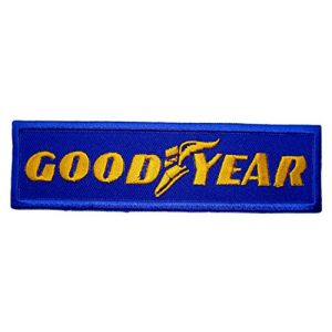 Goodyear Tires eagle Truck Car Patch Sew Iron on Logo Embroidered Badge Sign Emblem Costume BY Dreamhigh_skyland