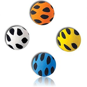 Custom & Unique {27mm} 2000 Bulk Pack, Mid-Size Super High Bouncy Balls, Made of Grade A+ Rebound Rubber w/ Mosaic Spotted Splotchy Dotted Polk-a-Dotted Patchy Blotchy Dappled Flecked (Multicolor)
