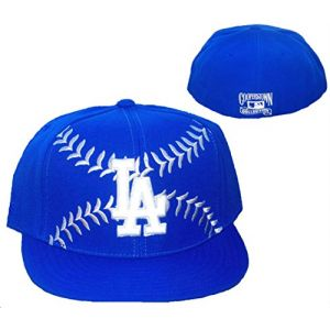 Los Angeles Dodgers BASEBALL Fitted Size 7 1/2 Cooperstown Collection Hat Cap