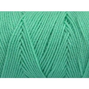 """Fabulous Crafts {720 Total Yards / 400g} 2 Cones Pack of Durable"""" Size 4 Medium Worsted Aran"""" Yarn for Knitting, Crochet & More, Made of 100% Dralon Acrylic w/Tropical Paradise Style {Mint Green}"""