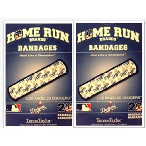 LA Dodgers Bandages x 2 box (total 40 pcs)
