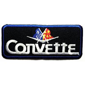 Chevrolet Corvette Cars Motorsport Racing Car logo patch Jacket T-shirt Sew Iron on Patch Badge Embroidery