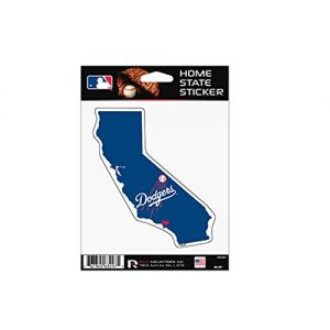 Dodgers Home State MLB Sticker