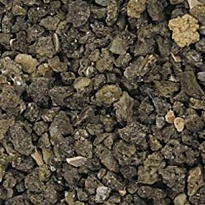 Safe & Non-Toxic (Various Size) 20 Pound Bag of Prewashed Gravel, Rocks & Pebbles Decor for Freshwater & Saltwater Aquarium w/ Dark Rugged Natural African Lake Floor Style [Gray & Tan]